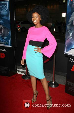 Brandy Norwood - Premiere of Open Road Films' 'A Haunted House 2' held at Regal Cinemas L.A. Live - Arrivals...