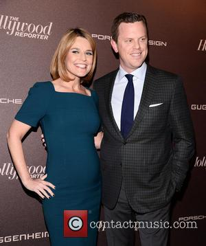 Savannah Guthrie and Willie Geist - The Hollywood Reporter 35 Most Powerful People In Media Celebration at The Four Seasons...