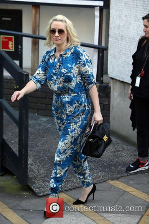 Claire Richards - Claire Richards outside the ITV studios - London, United Kingdom - Wednesday 16th April 2014