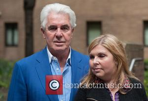 Max Clifford and Louise Clifford - Publicist Max Clifford leaves Southwark Crown Court on the day when a verdict is...