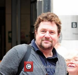 Michael Ball - Michael Ball leaving BBC Radio Two, London - London, United Kingdom - Thursday 17th April 2014