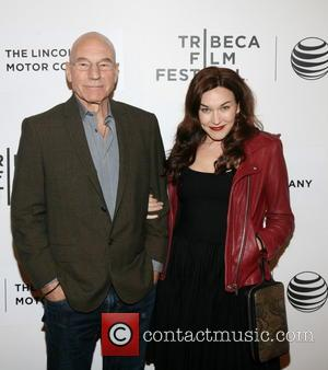 Patrick Stewart and Sunny Ozel