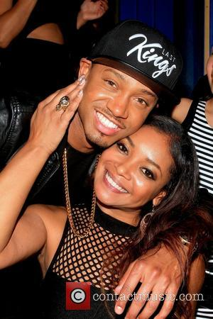 Tamala Jones, Terrence J and Terrence Jenkins - Terrence J's birthday celebration at Hooray Henry's nightclub, hosted by Rocsi Diaz...