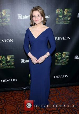 Renee Fleming - the 25th Anniversary Rainforest Fund Benefit at Mandarin Oriental Hotel on April 17, 2014 in New York...