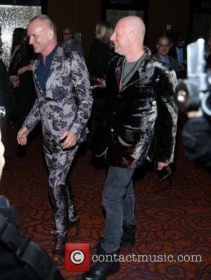Sting and Gordon Sumner - the 25th Anniversary Rainforest Fund Benefit at Mandarin Oriental Hotel on April 17, 2014 in...
