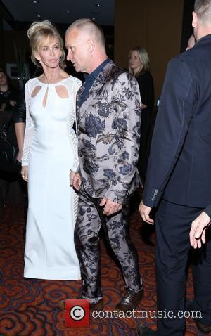 Trudie Styler, Sting and Gordon Sumner