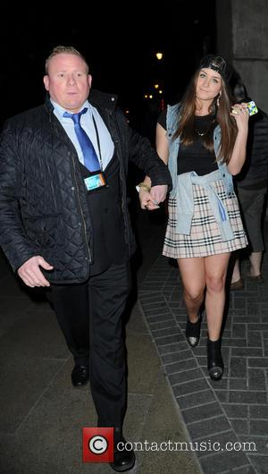 Brooke Vincent and Security Guard