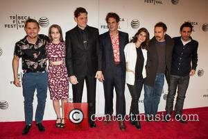 Marisa Tomei, Ivan Martin, writer Michael Godere, Adam Rapp, Isabelle McNally, Bryan Geraphty and Sam Rockwell - 'Loitering With Intent'...