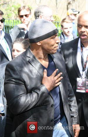 Mike Tyson - Tribeca Talks: After the Movie, 'Champs' - Arrivals - ATLANTIC CITY, New Jersey, United States - Saturday...
