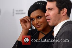 Mindy Kaling and Chris Messina - 2014 Tribeca Film Festival - 'Alex Of Venice' Premiere - Red Carpet Arrivals -...