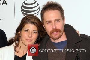 Marisa Tomei and Sam Rockwell - 2014 Tribeca Film Festival -