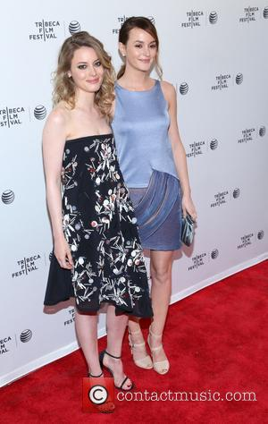 Gillian Jacobs and Leighton Meester - the 'Life Partners' screening during the 2014 Tribeca Film Festival at SVA Theater on...
