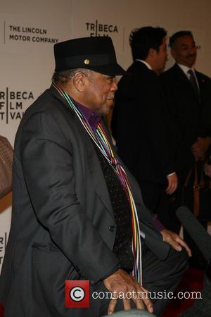 Quincy Jones - 'Keep On Keepin' On' premiere at the Tribeca Film Festival - Arrivals - New York, New York,...