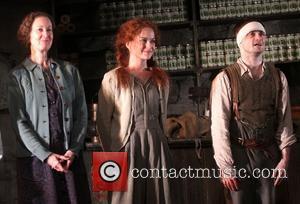Ingrid Craigie, Sarah Greene and Daniel Radcliffe
