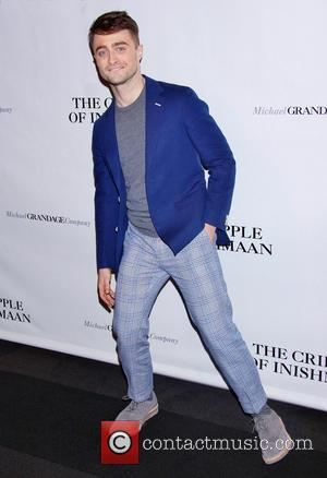 Daniel Radcliffe - Opening night after party for The Cripple of Inishmaan at the Edison Ballroom - Arrivals - New...