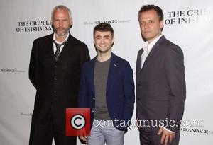 Martin McDonagh, Daniel Radcliffe and Michael Grandage