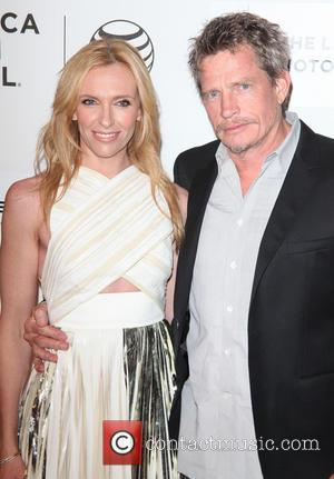 Toni Collette and Thomas Haden Church