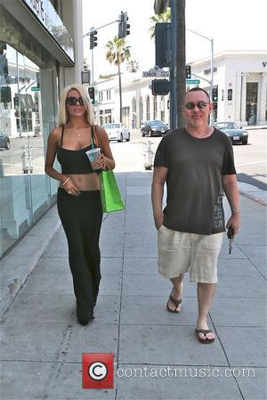 Courtney Stodden and Doug Hutchison - Courtney Stodden and Doug Hutchison shops at Pussy and Pooch in Beverly Hills -...