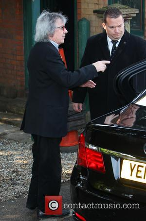 Bill Wyman - The funeral of Peaches Geldof at St Mary Magdelene and St Lawrence Church in Faversham - Windsor,...