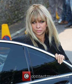 Jo Wood - The funeral of Peaches Geldof at St Mary Magdelene and St Lawrence Church in Faversham - Windsor,...