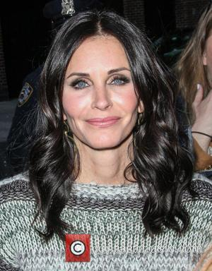 Courteney Cox - Courteney Cox leaves the Ed Sullivan Theater after appearing on 'The Late Show With David Letterman' -...