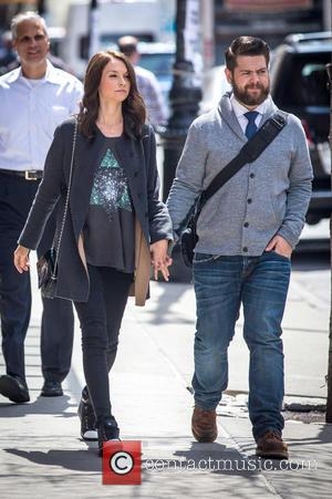 Lisa Stelly and Jack Osbourne - Jack Osbourne and wife Lisa Stelly go for a stroll on a sunny day...
