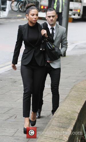 Tulisa Contostavlos and Gareth Varey - Tulisa Contostavlos outside Southwark Crown Court - London, United Kingdom - Tuesday 22nd April...
