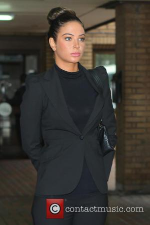 Tulisa Contostavlos - Tulisa Contostavlos leaves Southwark Crown Court after pleading not guilty to the supply of class A drugs...