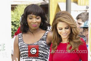 Venus Williams and Maria Menounos - Venus Williams Guests on Extra. She is spokesperson for Jamba Juice. - Universal City,...