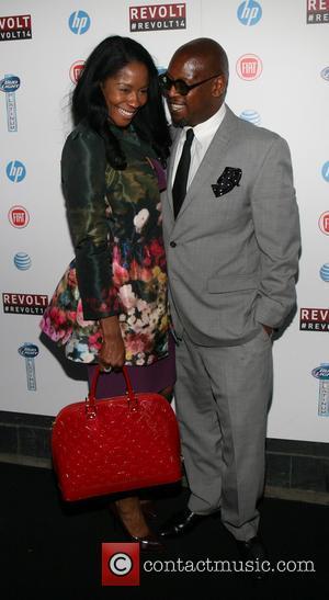 Andre Harrell and Ericka Pittman
