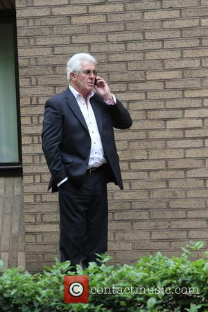 Max Clifford - PR Guru Max Clifford looked stressed as he made a call during his lunch break ahead of...