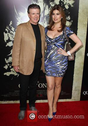 Alan Thicke and Tanya Callau - Los Angeles premiere of 'The Quiet Ones' - Arrivals - Los Angeles, California, United...