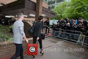Tulisa Contostavlos and Gareth Varey - Former N-Dubz singer Tulisa Contostavlos appears at Southwark Magistrates Court for a plea, charged...