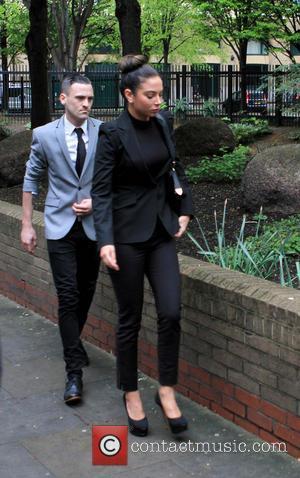 Tulisa Contostavlos - Tulisa Contostavlos at Southwark Crown Court - London, United Kingdom - Tuesday 22nd April 2014