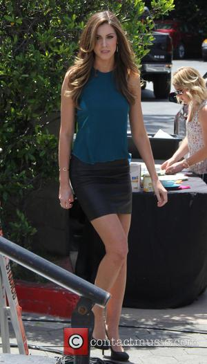 Katherine Webb - Katherine Webb makes an appearance on celebrity entertainment show EXTRA TV at Universal Studios - Los Angeles,...