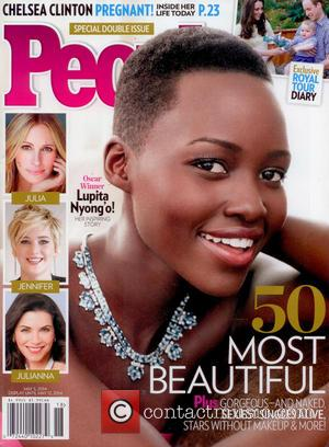 Lupita Nyong'o - Lupita Nyong'o named People Magazine's 'Most Beautiful'...