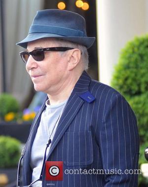 Paul Simon - Paul Simon leaving The Shelbourne Hotel ahead of his concert at the National Concert Hall - Dublin,...