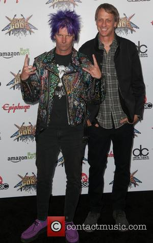 Tony Hawk - The Revolver Golden Gods Awards Show - Arrivals - LA, California, United States - Wednesday 23rd April...