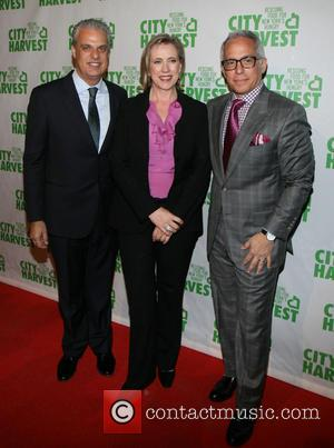 Eric Ripert, Jilly Stephens and Geoffrey Zakarian