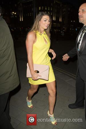 Luisa Zissman - Celebrities arrive at The Me Hotel for The Stealing Banksy party - London, United Kingdom - Thursday...