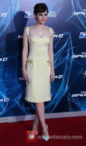 Felicity Jones - The New York premiere of 'The Amazing Spider-Man 2' at The Ziegfeld Theater - Arrivals - New...