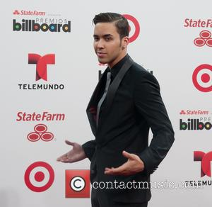 Prince Royce - Presenters, performers and nominees meet fans and media across the red carpet at the Latin Billboard Arrivals...