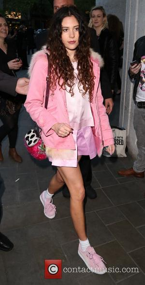 Eliza Doolittle - Stealing Banksy party in Central London - Outside - London, United Kingdom - Thursday 24th April 2014