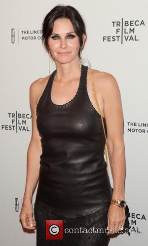 Courteney Cox - Tribeca Film Festival 2014: 'Just Before I Go' - Premiere - New York, United States - Thursday...