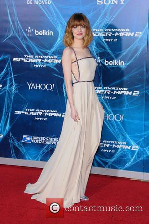 Emma Stone - New York Premiere of 'The Amazing Spider-Man 2' at the Ziegfeld Theater - Red Carpet Arrivals -...