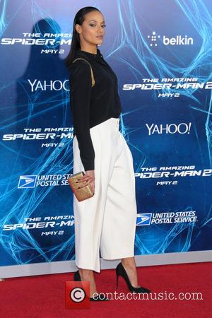 Selita Ebanks - New York Premiere of 'The Amazing Spider-Man 2' at the Ziegfeld Theater - Red Carpet Arrivals -...