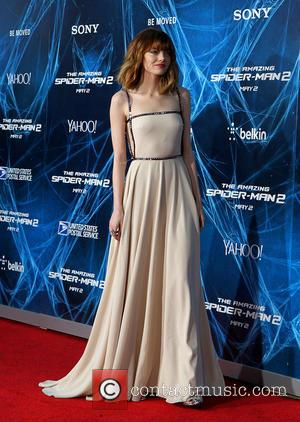 Emma Stone - The Amazing Spider-Man 2 - New York Premiere at the Ziegfeld Theater - New York, New York,...