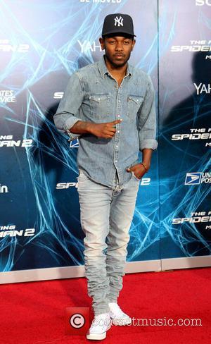 Kendrick Lamar - The Amazing Spider-Man 2 - New York Premiere at the Ziegfeld Theater - New York, New York,...