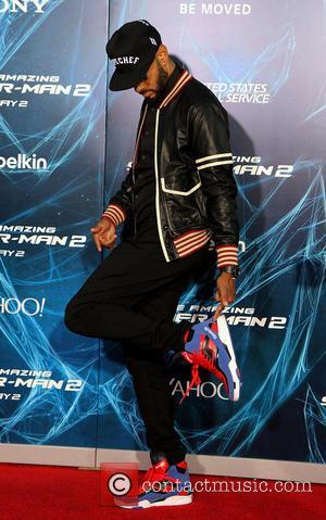 Swizz Beats - The Amazing Spider-Man 2 - New York Premiere at the Ziegfeld Theater - New York, New York,...