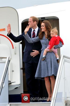 Prince William, Duke Of Cambridge, Catherine, Duchess Of Cambridge and Prince George Of Cambridge